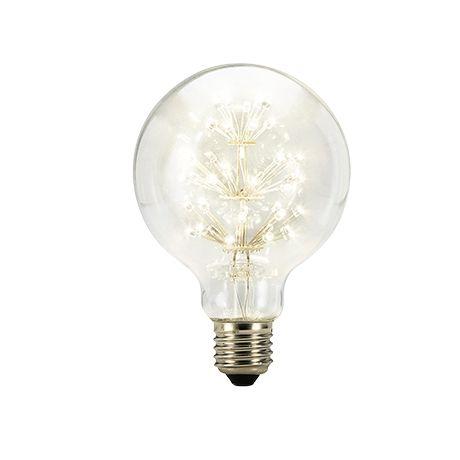 Star Glow Globe LED G 95 220-240 V 3 Watt Es