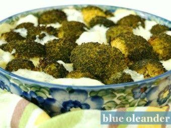 Broccoli with gorgonzola