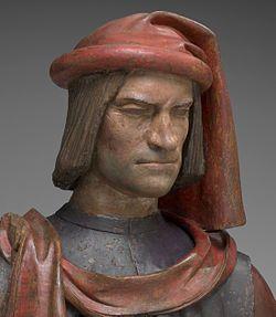 Buste par Andrea del Verrocchio son of piero di cosimo