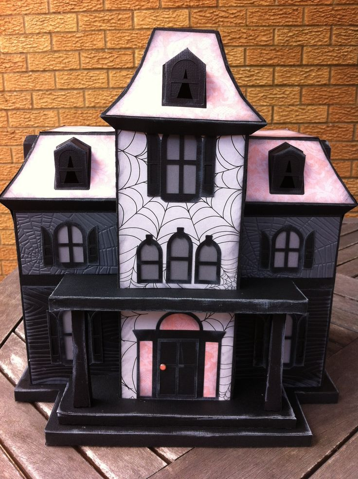 Maple Manor made from #svgcuts