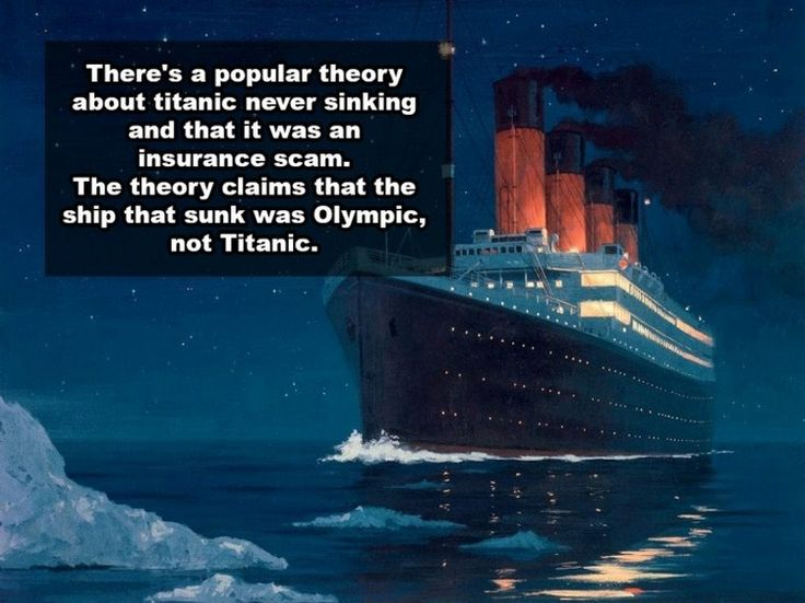Believe it or not, there are actually people out there who are convinced that these conspiracy theories are true.