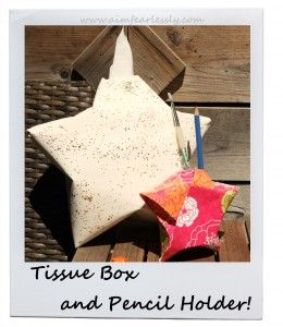 Origami Star Holder's! For instructions, visit www.aimfearlessly.com