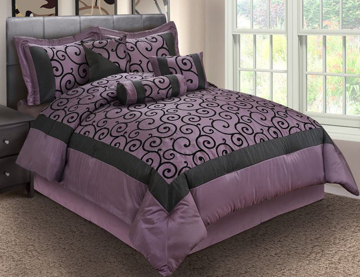 Best 25 Black Comforter Sets Ideas On Pinterest Black