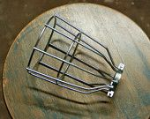 SnakeHeadVintage on Etsy  Steel Bulb Guard, Clamp On Metal Lamp Cage For Vintage Trouble Lights - Top Quality Supplies For Your Handmade Lighting, Lamps, Pendants etc