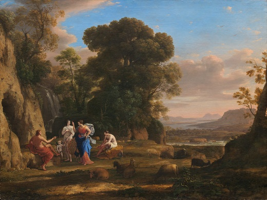 The Judgment of Paris by Claude Lorrain