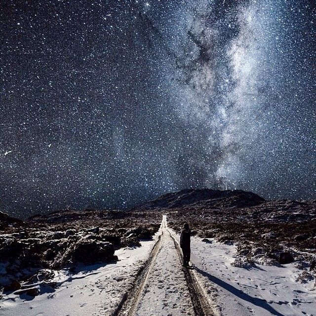 Fresh snow and a breathtaking spray of stars over Mount Barrow State Reserve, North East of Launceston. This is a spectacular alpine reserve with a range of lookouts and forest walks. Head out there and explore... See more via - discovertasmania.com.au