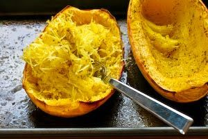 Kalyn's Kitchen®: Recipe for Spaghetti Squash and Chard Gratin...Mom ...