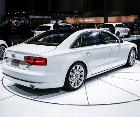 New #Audi A 8 L 2015. Luxury for your dynamic drive.