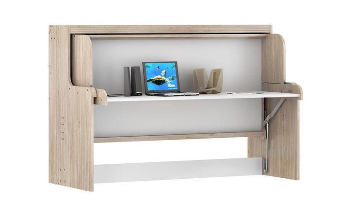 die besten 25 klappbett mit schreibtisch ideen auf pinterest klappbett schreibtisch murphy. Black Bedroom Furniture Sets. Home Design Ideas