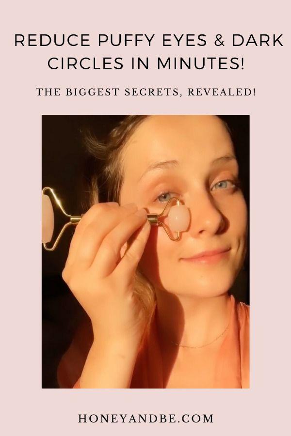 Learn to de-puff! Under eye puffiness remedies   Under eye ...