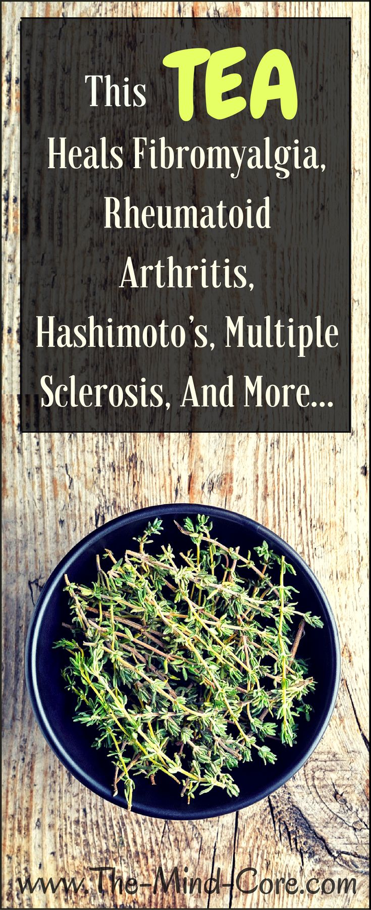 This Tea Heals Fibromyalgia, Rheumatoid Arthritis, Hashimoto's, Multiple Sclerosis, And More…