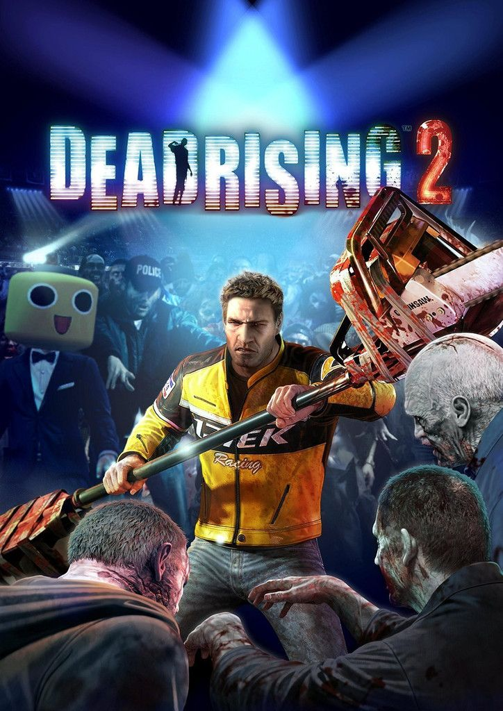 Dead Rising 2 is a zombie apocalypse but is based around one guy stuck in a mall.  He is trying to save his daughter by using a medicine which will cure her.  He has to fight his way through zombies and humans to try to get this cure.