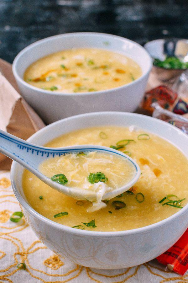 Egg Drop Soup Recipe, by thewoksoflife.com