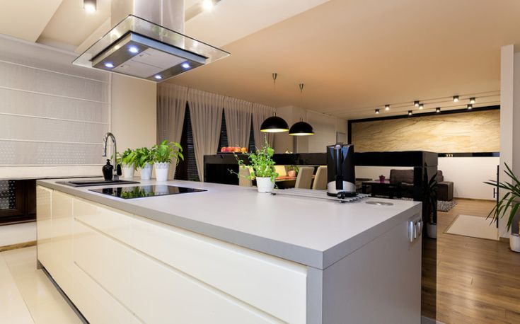 Okapy kuchenne z sensorem pary | KrainaDesignu.pl