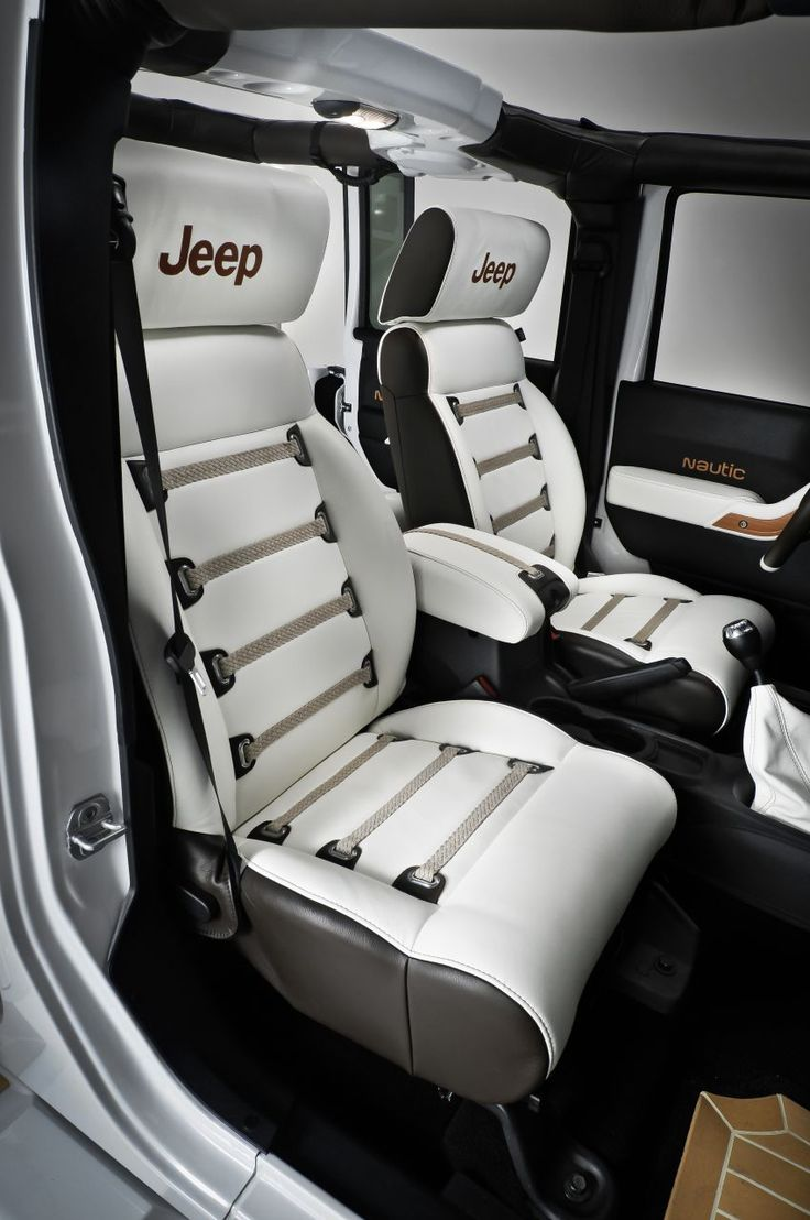 Car interior accessories for guys - Jeep Wrangler Nautic By Style Design 2011