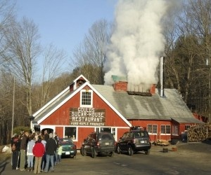 Pinner Says: Gould's Sugarhouse, in Shelburne Falls, MA on the Mohawk Trail. This place is a Family Tradition, every spring - Maple runs in my veins!! Breakfast anyone. Just a few miles from my studio in Shelburne Falls so you can enjoy syrup and then take a lovely stroll in the village.