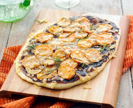 Sweet Potato and Vegemite Pizza   20 Delicious New Ways To Enjoy Vegemite