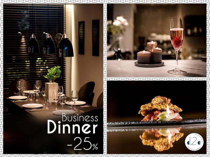Εταιρικά Δείπνα στο Dai Due Amici, από Τρίτη έως και Πέμπτη με Έκπτωση 25% στο μενού & Οικονομικές προτάσεις σε κρασιά! Υψηλή γαστρονομία, διακριτικό service & φιλόξενη ατμόσφαιρα είναι μερικά από τα συστατικά μας για ένα επιτυχημένο επαγγελματικό δείπνο.  Κάντε κράτηση τώρα ή ζητήστε περισσότερες πληροφορίες στο 21 6800 9600.  Αγίου Γεωργίου 28 Χαλανδρι