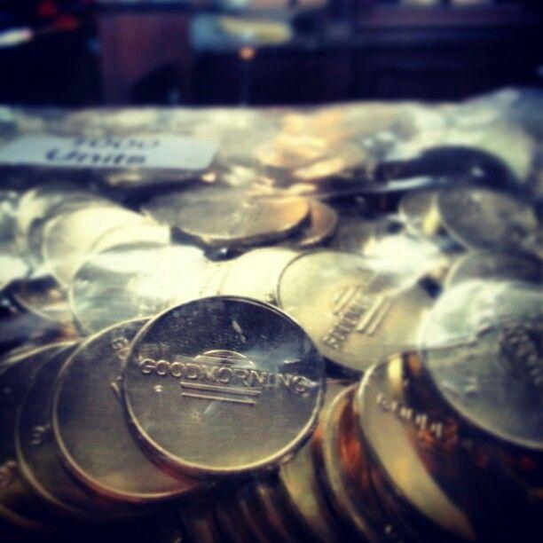 GOODMORNING munt eenheid