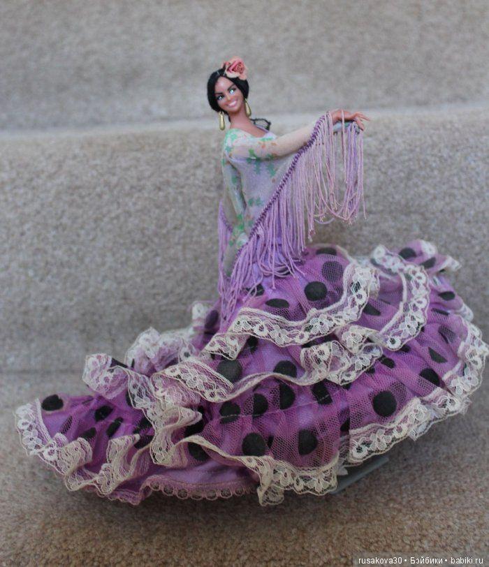 Как помнит коленка, про танец фламенко! Ну что за цыганка была!... / Другие коллекционные куклы / Бэйбики. Куклы фото. Одежда для кукол