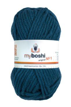 myboshi No.1 154 petrol 70% Polyacryl und 30% Schurwolle (Merino) 3,75 €