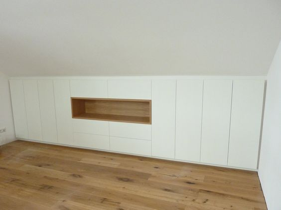 die besten 17 ideen zu einbauschrank dachschr ge auf. Black Bedroom Furniture Sets. Home Design Ideas