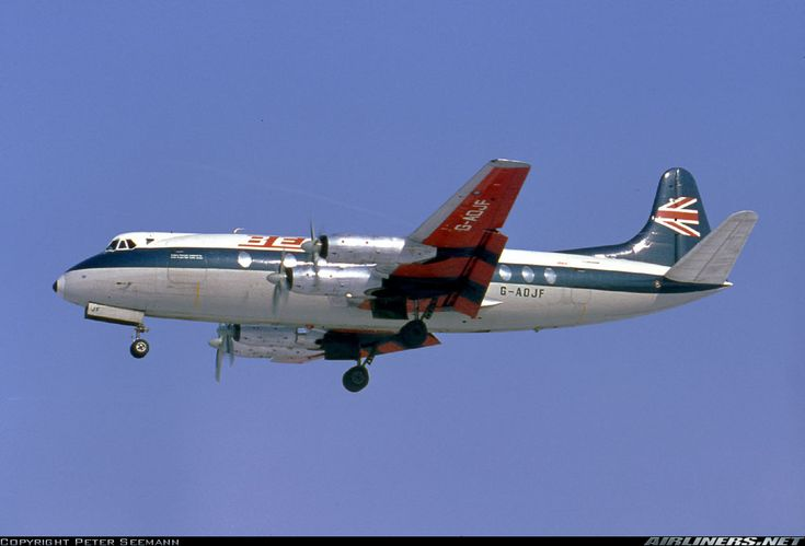 Vickers 802 Viscount aircraft picture