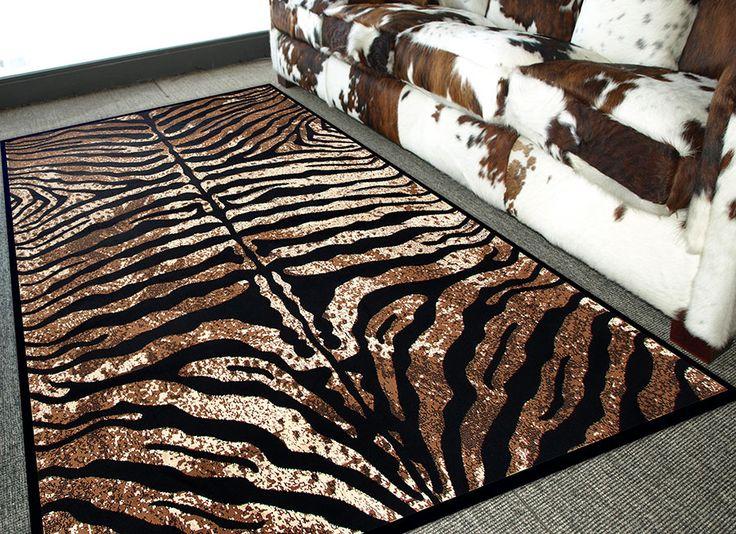 M s de 1000 ideas sobre alfombras de cebra en pinterest - Alfombra piel cebra ...
