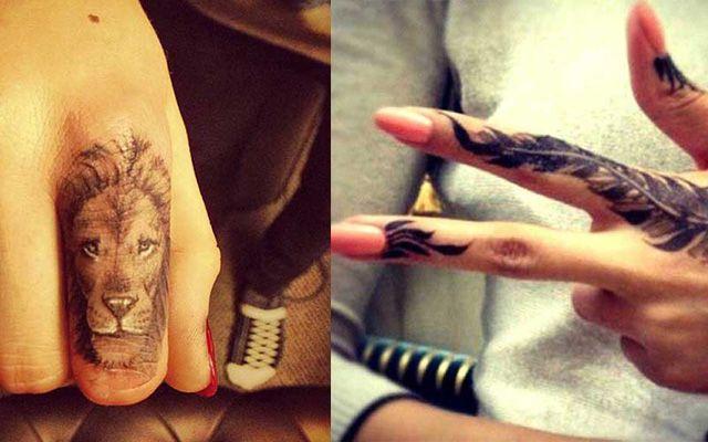 Cool Finger Tattoo Ideas | Tattooed