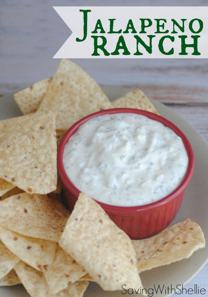 Creamy Jalapeno Ranch is THE BEST Ranch Dip I have ever tried. It's quick, easy and the dish always comes home empty.