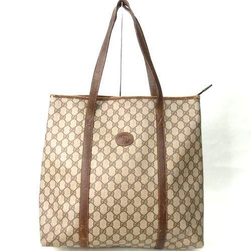 f18727cd 100 Authentic GUCCI HANDBAG GG Tote Bag Vintage WOMEN BAG #GUCCI ...
