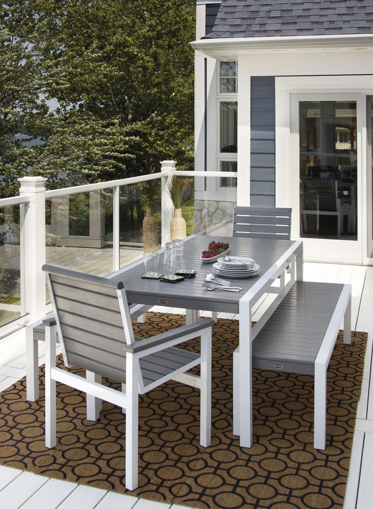 Outdoor Furniture At Sawbridge Studios MOD Dining From The MOD Collection  American Made, Built