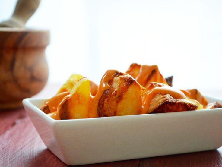 Patatas bravas receta recetas faciles y rapidas for Tapas sencillas y rapidas
