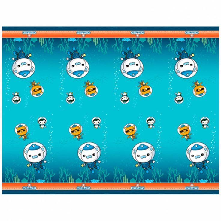 1.2m x 1.8m Octonauts Party Adventure Disposable Plastic Table Cover #Party  sc 1 st  Pinterest & 14 best Octonauts Party Supplies images on Pinterest | Octonauts ...