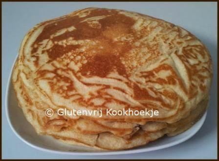 Glutenvrije pannenkoeken | Het Glutenvrije Kookhoekje