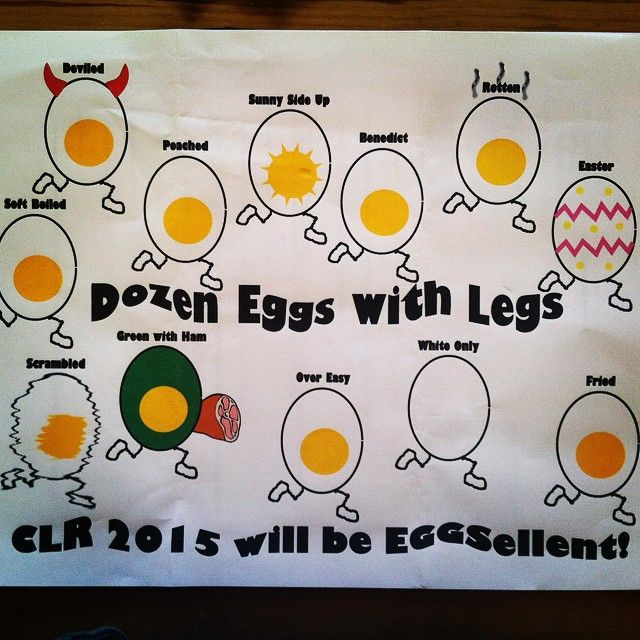 Another fun envelope we received for Cascade Lakes Relay registration. The anticipation of the lottery pick is building! Teams will be announced on October 15th! #clr2015 #eggs