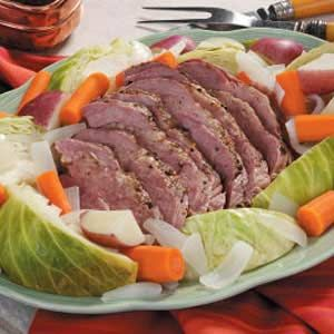Easy Corned Beef n Cabbage