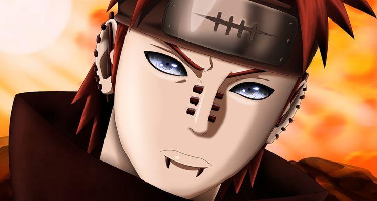 Naruto Shippuden - Pain(Yahiko), Nagato, Konan and Jiraya
