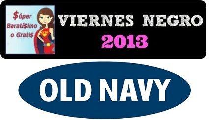 Ofertas de Viernes Negro súper baratísimo o gratis en Black Friday Old Navy 2013 #blackfriday