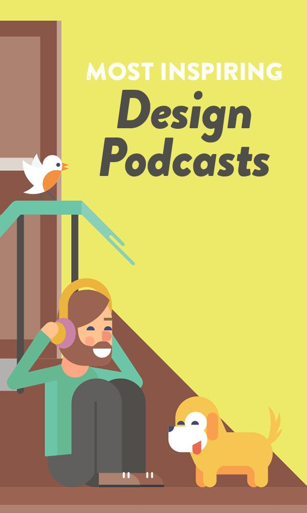 Feeling blocked? End the week right with these inspiring design podcasts — hundreds of creatives selected them for you!