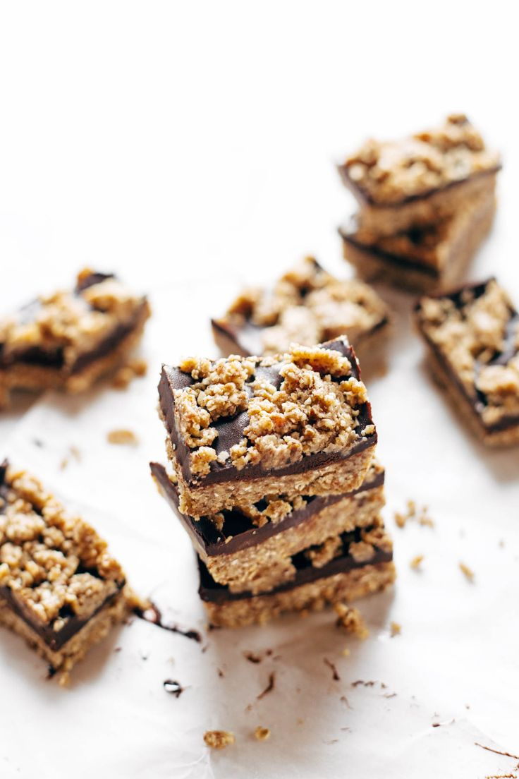 Raw Salted Chocolate Snack Bars - simple no-bake bars with clean ingredients…
