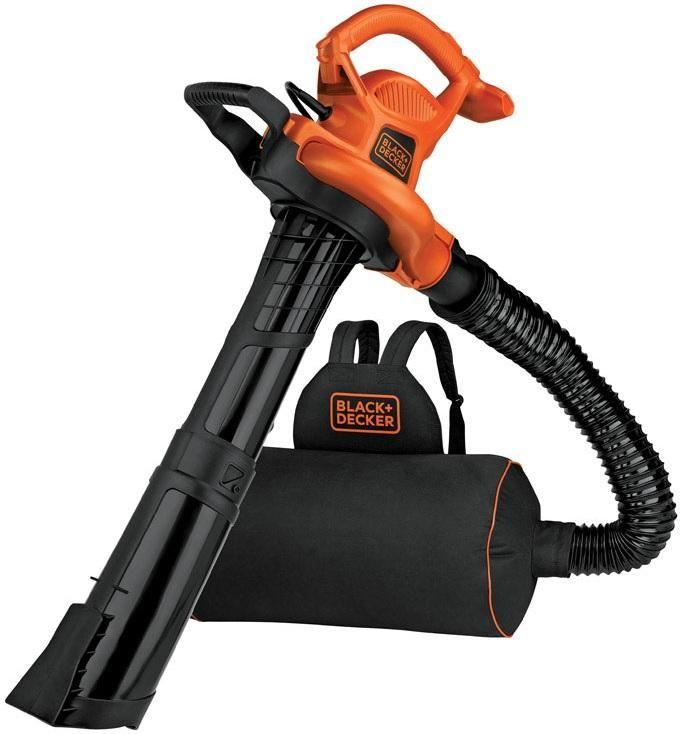 Black Decker Bebl7000 Electric Blower Mulcher Vacuum 12 Amps Black Decker Backpack Blowers Leaf Blower