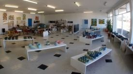 (Feb 2015 'Zoo') Ivan Vostinar Gallery - Spacious gallery, workshop and studio with hundreds of works. Oil paintings, ceramic sculpture and domestic ware pottery in porcelain and stoneware.