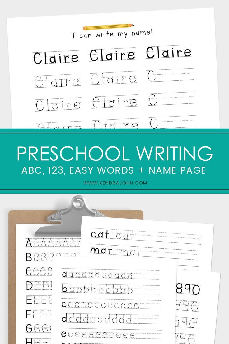 Writing Practice For Preschooler Name Tracing Work Etsy Writing Practice Learning To Write Tracing Worksheets Preschool [ 1104 x 736 Pixel ]