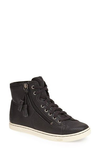 UGG® Australia 'Blaney' Tasseled High Top Sneaker