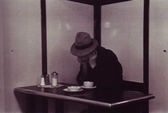 Saul Leiter early pics.