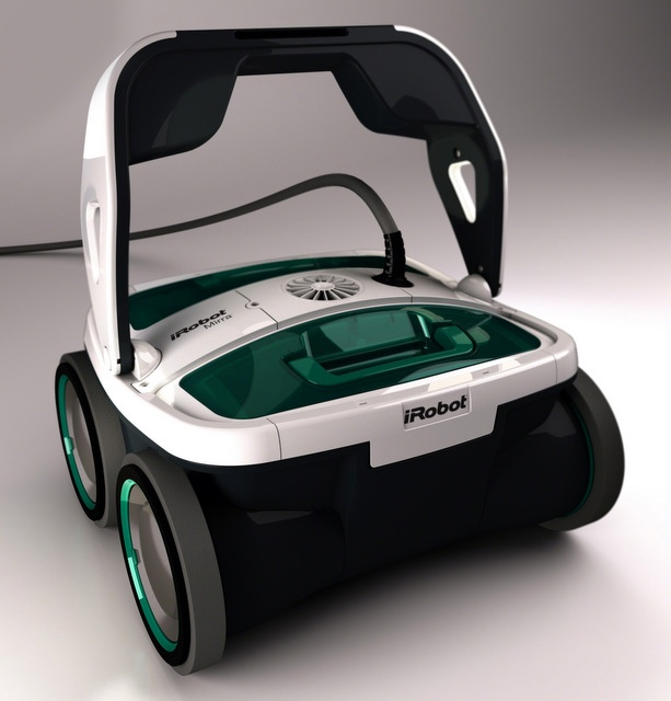 This smart iRobot is made to clean your pool.