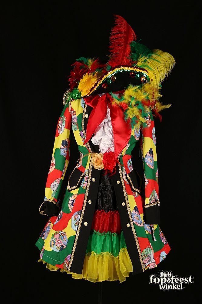 Geruite carnavals jas vrouwen | Feestkleding.nl