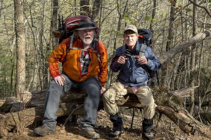 Nick Nolte And Robert Redford In A Walk In The Woods 2015 Into The Woods Movie Robert Redford Walk In The Woods