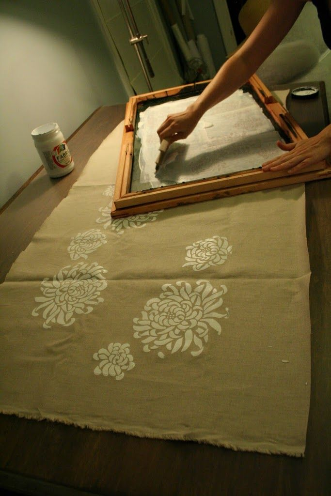 This woman is amazingly talented -- how to screen print with details, pics.